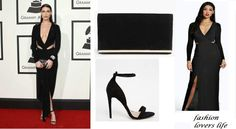 Get @bellahadid #grammy look for less