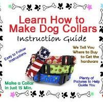 Dog Collar Sewing Instructions, Instructional Guide Teaching You How to Make Dog Collars, Puppy Collar Sewing, Make Dog Collars + Flowers Diy Dog Collar, Collar And Leash, Dog Collars, Do It Yourself Inspiration, Collor, Dog Crafts, Dog Items, Animal Projects, Pet Treats
