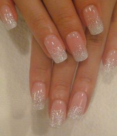Beautiful wedding nails #wedding