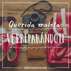 Maletita, querida, ¡te queda tanto mundo por ver! #lovelystreets