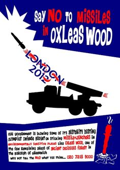 No missiles in Oxleas Woods