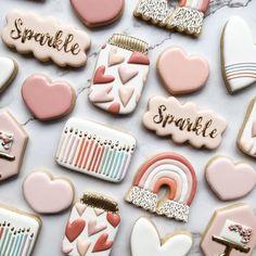 Sugar Cookie Cakes, Sugar Cookie Royal Icing, Cookie Icing, Iced Cookies, Cupcake Cakes, Cupcakes, Crazy Cookies, Cute Cookies, How To Make Cookies