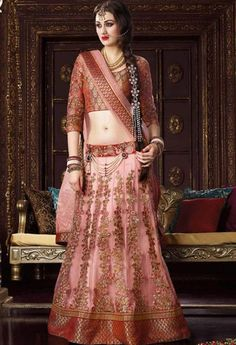 Peach Net Designer Lehenga Choli..@ fashionsbyindia.com #designs #indian #womens #style #cloths #stylish #casual #fashionsbyindia #punjabi #suits #wedding #saree #chic #elegance #beauty #outfits #fantasy #embroidered #dress #lehenga #choli #PakistaniFashion #Fashion #Longsuit #FloralEmbroidery #Fashionista #Fashion2015 #IndianWear #WeddingWear #Bridesmaid #BridalWear #PartyWear #Occasion #OnlineShopping #instablogger #fashionblog #beautyblogger #thephotodiary #bride #indianwedding #india