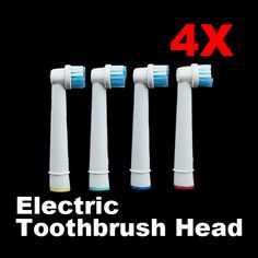 4Pcs New Fashion Tooth Brushes Head B Electric Toothbrush Replacement Heads for Oral Vitality Hygiene H7JP  Price: 1.63 USD