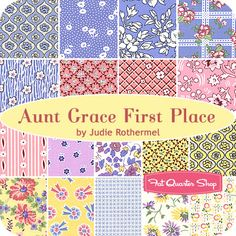 Aunt Grace First Place Fat Quarter Bundle Judie Rothermel for Marcus Brothers Fabrics - Fat Quarter Shop
