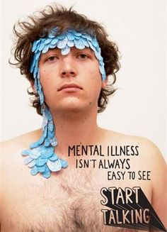 Did Gotye inspire a mental illness campaign? (But the point of the poster is an excellent one.)