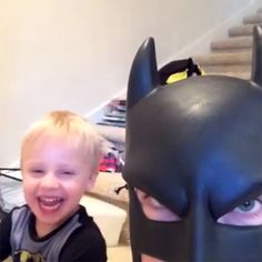 BatDad Returns With a Third Compilation of Funny Vine Videos. His kids must think he's so weird haha