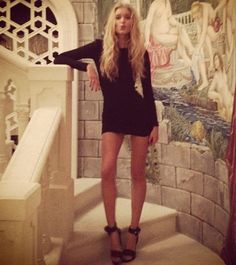 happy new year everyone! sending lots of love and good vibes for 2013! thank you all for following xo! elsa hosk