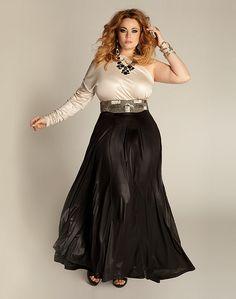 Oscars Worthy Plus Size Cassandra Infinity Gown Image Fashion, Curvy Fashion, Look Fashion, Plus Size Fashion, Fashion Beauty, Girl Fashion, Fashion Women, Xl Mode, Mode Plus