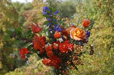 Fall Boquet from the Garden