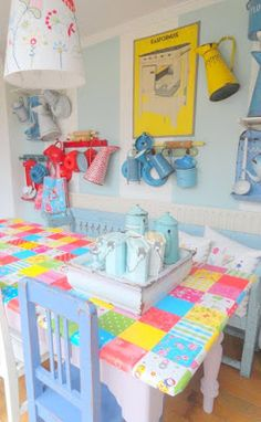 Patchwork kitchen table