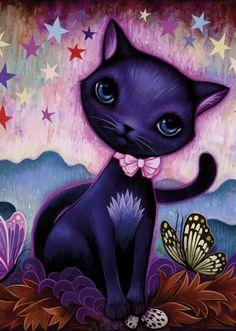 Puzzle Heye 1000 Piezas  Ref 29687  Dreaming black kitty  Jeremiah Ketner