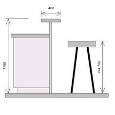 výška baru v kuchyni - Hledat Googlem Bar Seating, Wardrobe Rack, Modern, Kitchen Island, Inspiration, Furniture, Google, Home Decor, Island Kitchen