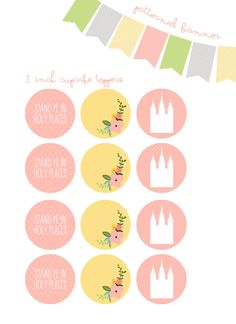 LDS Young Women 2013 Theme Printable Package Stand by lazydaisy7, $18.00