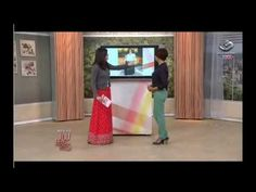Juliana Ariza dá dicas de como usar Saias Longas - Programa Mulheres 07/02/2013.
