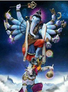 Ganesha wallpaper by sarushivaanjali - 93 - Free on ZEDGE™ Shri Hanuman, Shri Ganesh, Ganesha Art, Krishna Art, Ganesh Wallpaper, Lord Shiva Hd Wallpaper, Lord Ganesha Paintings, Lord Shiva Painting, Ganesha Pictures