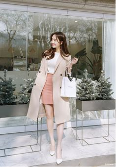 T-Shirts, Dress, Blouse, Skirts, Pants & Korean Fashion Dress, Korean Dress, Korean Outfits, Fashion Dresses, Asian Fashion Style, Korean Casual Fashion, Korean Fashion Styles, Korean Winter Outfits, Korean Fashion Office