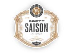 Powell Street Craft Brewery Brett Saison — The Dieline | Packaging & Branding Design & Innovation News