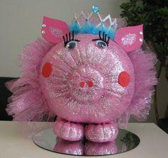 Princess pumpkin, winner of best group pumpkin!