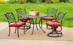 Napa 5 Piece Patio Dining Set | HOM Furniture | Furniture Stores in Minneapolis Minnesota & Midwest