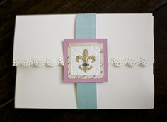 DIY Invitations. These took me forever to make.