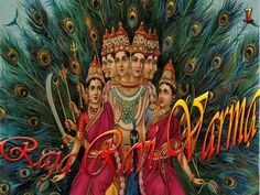 Learn about the popular deity Kartikeya, the second son of Lord Shiva and Goddess Parvati, a war god, and his symbolism. Ganesha, Indian Baby Names, Raja Ravi Varma, Auryn, Lord Murugan, Durga Goddess, Indian Artist, Hindu Deities, Gods And Goddesses