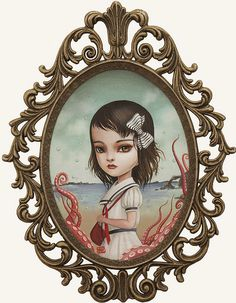 ' Lucy at the Seaside ' by Mab Graves