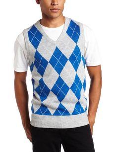 Southpole Men's Argyle Sweater Vest