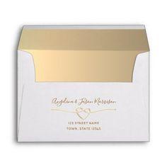 5x7 Envelopes, Custom Printed Envelopes, Wedding Envelopes, Addressing Wedding Invitations, Zazzle Invitations, Red Wedding, Wedding Gifts, 10 Envelope, Street Names