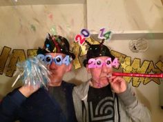 Gandalf and Captain Picard Celebrate New Year's Eve