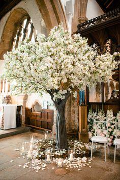 White Blossom Tree, Blossom Tree Wedding, Blossom Trees, Airbnb Wedding, Tent Wedding, Wedding Sets, Dream Wedding, Wedding Crafts, Wedding Decorations