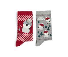 Pack Socken mit Pinguinmotiv - OYSHO