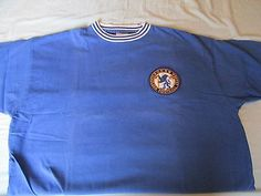 #Chelsea #official blue flag #retro home shirt size xl,  View more on the LINK: http://www.zeppy.io/product/gb/2/252725504069/