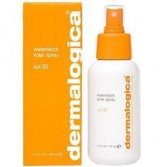 Dermalogica Waterblock Solar Spray SPF 30 4.2 FL oz by Dermalogica. $38.00. Water-resistant sunscreen for instant full-spectrum protection. 4.2 FL oz