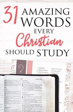 31 Amazing Bible Word Studies You Should Do If you're looking to do a word study, be sure to grab our free Bible word study list to use in … Bible Study Plans, Bible Study Notebook, Bible Study Tips, Bible Study Journal, Scripture Study, Bible Lessons, Free Bible Study, Bible Words, Bible Scriptures