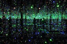 Yayoi Kusama, Fireflies on the water, 2002, Whitney Museum of American Art