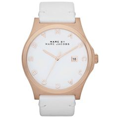Marc Jacobs Women's 'Blade' White Dial Watch | Overstock.com