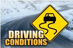 Top Five Most Dangerous Driving Conditions for Seniors Most people believe that the most dangerous driving conditions exist mostly during bad weather. However, while inclement weather can pose a danger, most people consciously avoid driving during heavy rain, snow and ice to minimize the risk of an accident.  It is the times that we feel most safe that we may not be. #Driving
