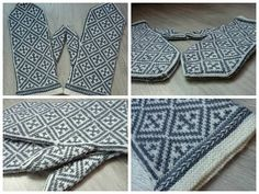 Ravelry: Project Gallery for Hansa Mittens pattern by Tuulia Salmela