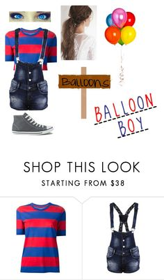"""""""Fnaf:balloon boy"""" by vanessakitten ❤ liked on Polyvore featuring Étoile Isabel Marant and Converse"""