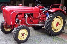 Porsche Super Tractor - Google Search