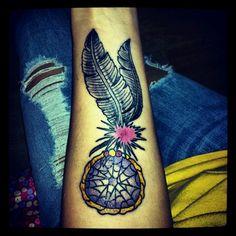 dream catcher. tattoo.