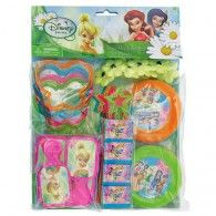Disney Fairies Tinker Bell Birthday Party Mega Favors Pack ~ 48 pc ~ Tinkerbell for sale online Pirate Fairy Party, Fairy Birthday Party, Birthday Box, Disney Birthday, Birthday Party Favors, Birthday Balloons, Disney Theme, Tinkerbell Party Theme, Little Girl Gifts
