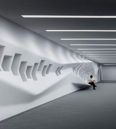 Dongdaemun Design Plaza by Zaha Hadid.
