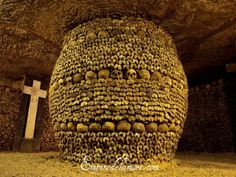 Catacombs, Paris. I know this is kind of weird; I read a lot of Anne Rice as a kid.