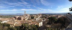 Blick auf Perugia, Umbriens Hauptstadt