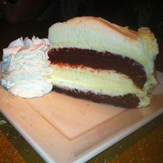 Redvelvet Cheesecake from Cheesecake Factory! Mmm. My favorite!