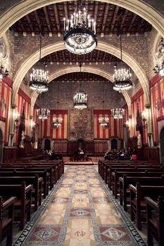 Saló de Cent – Ajuntament de Barcelona.