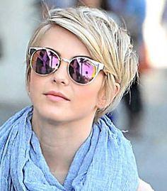 Julianne Hough Longer Pixie Cut