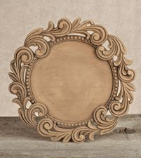 Beautiful decorative wood charger plate!